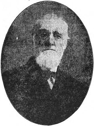 Battle of Salineville - Major George W. Rue in 1910