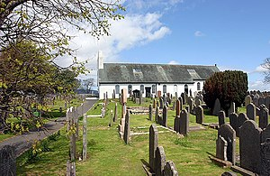 Thomas Wilson (bishop) - A church in Malew on the Isle of Man.