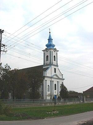 Torak (Žitište) - Image: Mali Torak, Romanian Orthodox church