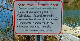 Mallows Bay - Valuable maritime heritage