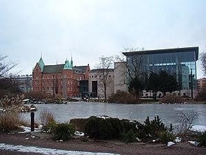 Malmö, Sweden, public city library.jpg