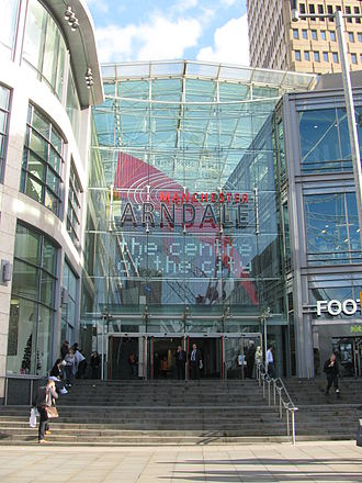 Manchester Arndale - The Arndale from Exchange Square