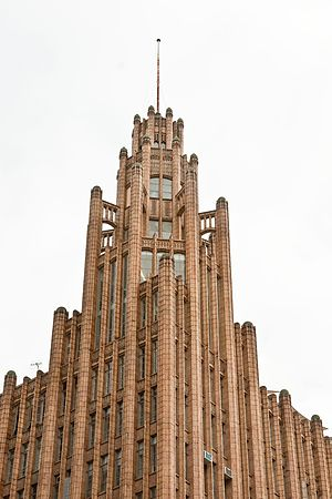 Marcus Barlow - Image: Manchester unity Building tower