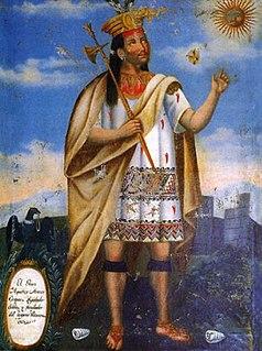 Manco Cápac first Sapa Inca of the Kingdom of Cusco