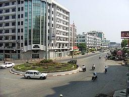 Gade i Mandalay.