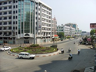 Chinese people in Myanmar - Mandalay continues to be Burma's major financial district and business networking hub for Burmese Chinese businessmen. Chinese entrepreneurs dominate Mandalay's central business district and the city is now teeming with thousands of prospering Chinese businesses.