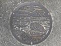 Manhole cover of Hatsukaichi, Hiroshima.jpg