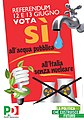 Manifesto PD referendum 2011 (5740641671).jpg