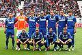 Mannschaft des SC Magna Wiener Neustadt beim Cupfinale 2010.jpg