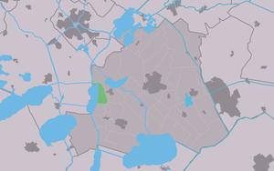 Dijken - Image: Map NL Skarsterlân Diken