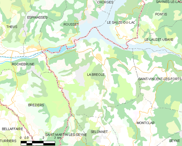 File:Map commune FR insee code 04033.png