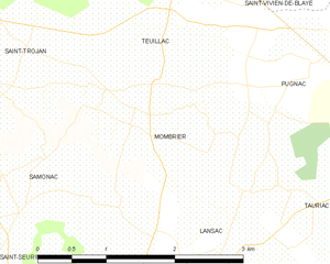Map commune FR insee code 33285.png