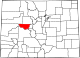 Map of Colorado highlighting Pitkin County.svg