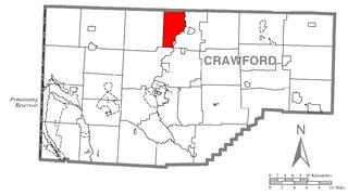 Venango Township, Crawford County, Pennsylvania Township in Pennsylvania, United States