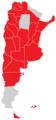 Mapa de los conflictos en Argentina de 2013.png