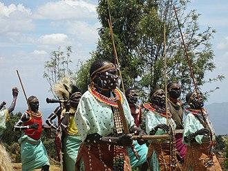 Elgeyo-Marakwet County - Image: Marakwet dancers