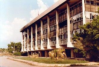 1983 Beirut barracks bombings - The building in 1982