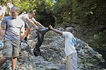 Marine Corps Air Station Iwakuni volunteers beautify Futashika Umezu Falls 151016-M-ZZ999-002.jpg