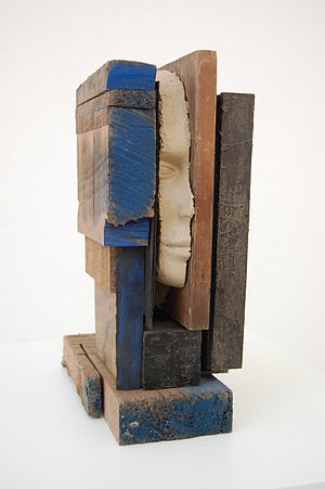 Mark Manders - Composition with Blue
