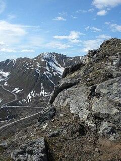 Hatcher Pass mountain pass