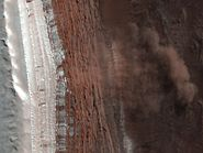 Mars Avalanche Hirise