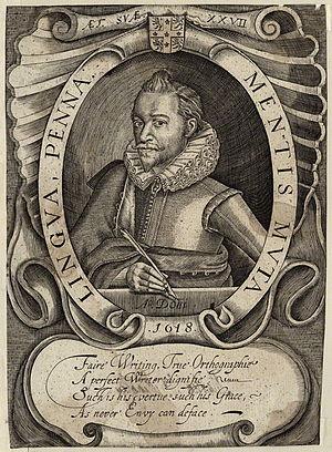 Martin Billingsley - Martin Billingsley, 1618 engraving by William Hole