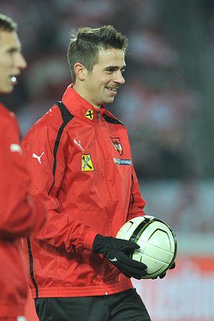 Martin Harnik - Harnik with Austria in 2012.