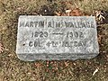 Martin Reuben Merritt Wallace's grave at Rosehill Cemetery, Chicago.jpg