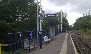railway station in the United Kingdom