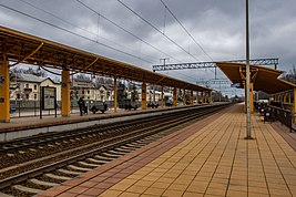Masiukoŭščyna station (Minsk, March 2020) p04.jpg