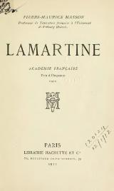 Masson - Lamartine, 1911.djvu