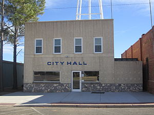 Matador, Texas - Matador City Hall