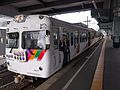 Matsuden 3000 series at Matsumoto Station 2016-10-09.jpg