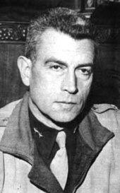 Major General Maurice Rose, Killed in Action, March 1945