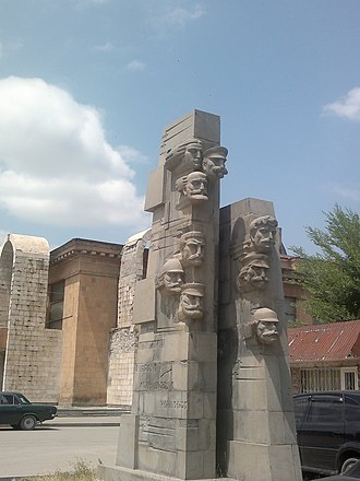 May Uprising - Monument to the participants of May Uprising in Gyumri.