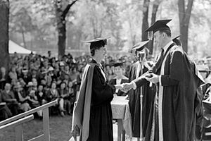 Academic dress of McGill University - Spring commencement at McGill University, circa 1930