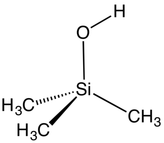 Silanol - Structure of Trimethylsilanol