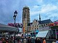 Mechelen - Grote Markt - View NW towards St. Rombouts Kathedraal.jpg