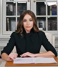 Mehriban Aliyeva on 2021 IDWGS (cropped).jpg