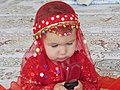 Mehrsa thinking who text him in phone but she like phone.jpg