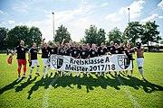 Meistermannschaft in die Kreisliga MA 2018.jpg