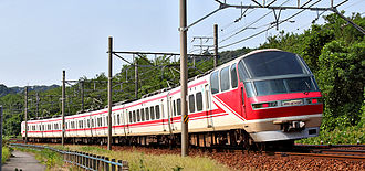 Meitetsu 1200 series - 1030/1230 series set 1132 in August 2009