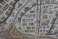 Mekor Hayim Neighborhood on a Mosaic map at Mount Herzl in Jerusalem (7723607298).jpg