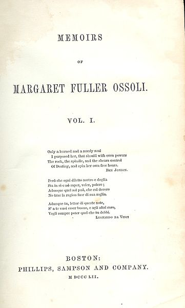 File:Memoirs of Margaret Fuller Ossoli.JPG