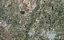Mendoza from space