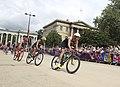 Mens triathlon goes past Green Park (7741419592).jpg