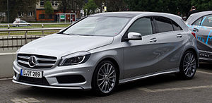 Mercedes-Benz A 250 BlueEFFICIENCY AMG Sport (W 176) – Frontansicht, 17. September 2012, Düsseldorf.jpg