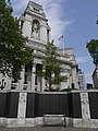 Merchant Seamen's Memorial - north end of the sunken garden with the Port of London Authority building behind.jpg
