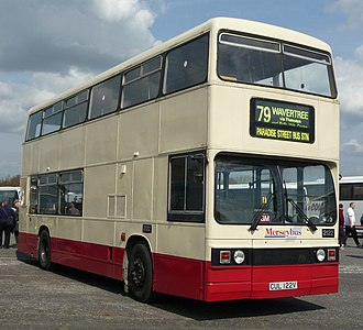 MTL (transport company) - Preserved Merseybus Leyland Titan
