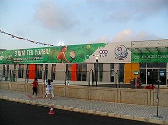 2013 Mediterranean Games - Image: Mersin Tennis Complex, turkey